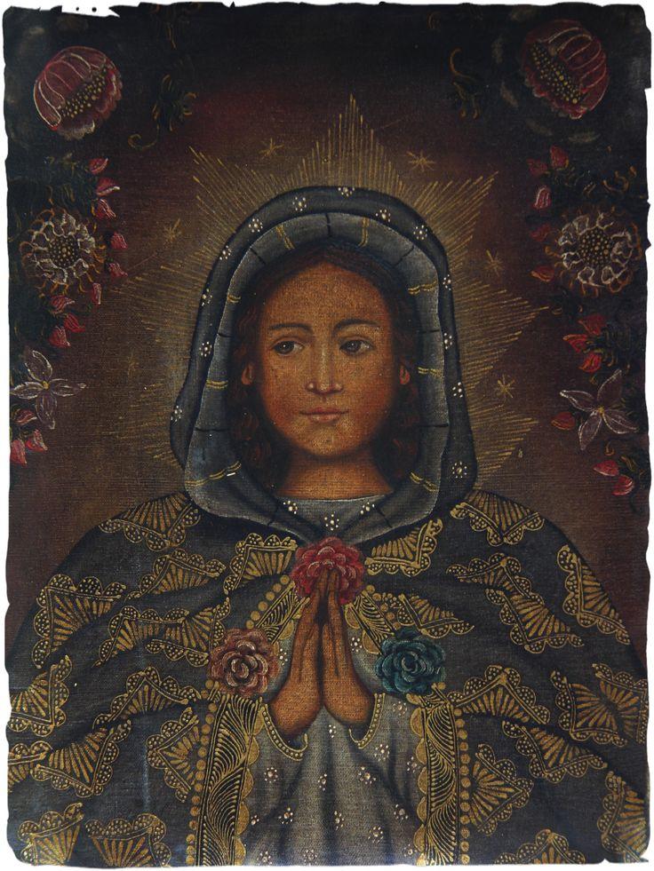 Regali di Natale preziosi #quadri ad #olio scuola #Cuzco #arte originale, #dipinto a olio del #Peru olio su #tela - cm. 30x40 soggetto Madonna #regali #natale #preziosi www.lamamita.it/store/abbigliamento-invernale/1/quadri-soprammobili-tappeti/quadri-ad-olio#sthash.3voNL95X.dpuf
