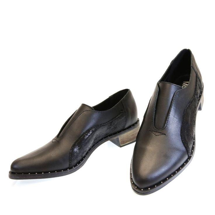 Oxford Preto 1582 Moselle | Moselle sapatos finos femininos! Moselle sua boutique online.