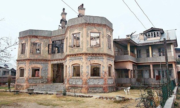 Abandoned: Locals say the Sheikh's family have not visited the property since 1989