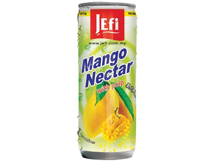 #Magno drank met #vruchtvlees #Jefi staat bekend om zijn uiterst populaire tropische sappen die voorzien zijn van een fris exotisch aroma en een buitengewone sappigheid. Jefi sappen zijn zeer rijk aan vitaminen, hebben een pure sapsmaak en bevatten geen conserveringsmiddelen. Mango is een exotische  vrucht die zeer veel voorkomt in tropische landen maar ook in andere delen van de wereld erg geliefd is.