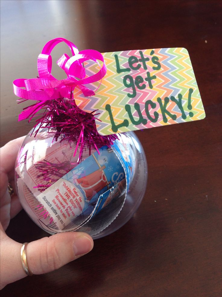 clear ornament craft ideas 1000 ideas about lottery ticket gift on 3664