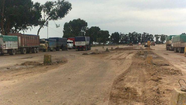 LAVOZ DEL QUEQUEN : Playa de Camiones: Prosiguen las tareas de foresta...