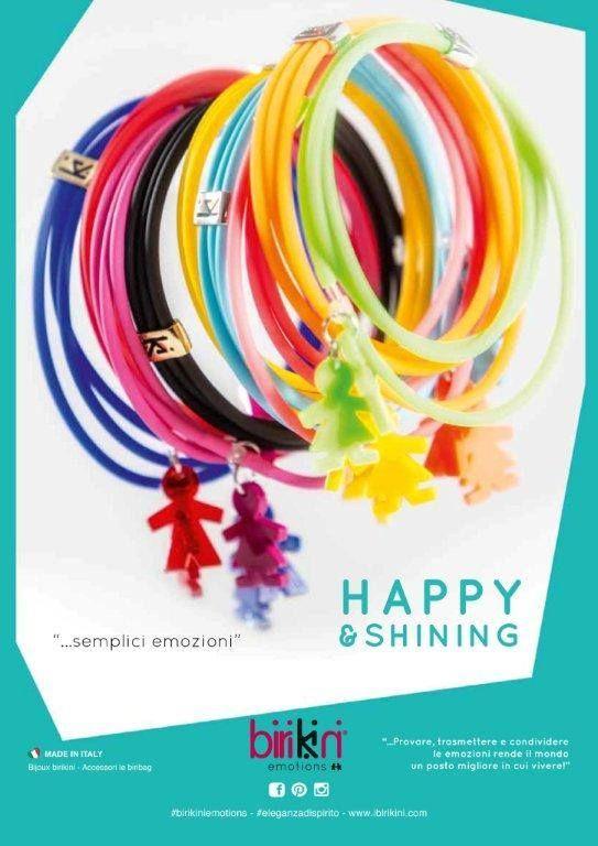 "#birikini Happy Shining: #Bracciale in caucciù con triplo filo, doppio charms birikino e birikina, passante ""ki"". Anello in caucciù con triplo filo passante ""ki"".. SEMPLICI #EMOZIONI #birikiniemotions"