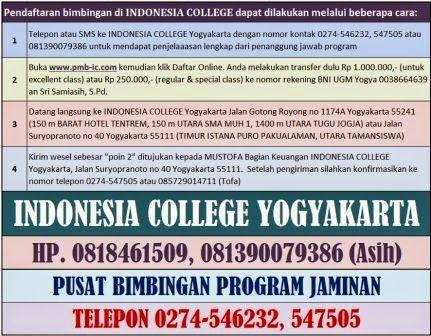 INDONESIA CERDAS: bimbingan fk ugm iup kedokteran internasional star...