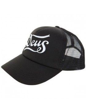 DEUS Trucker pet Skeers - black white