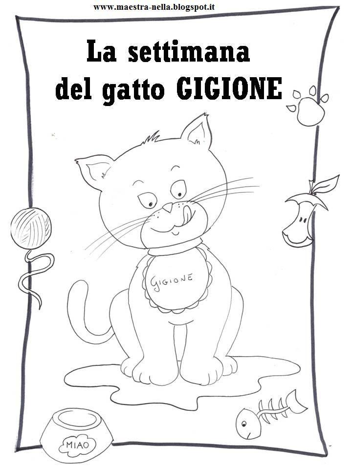 maestra Nella: La settimana del gatto Gigione