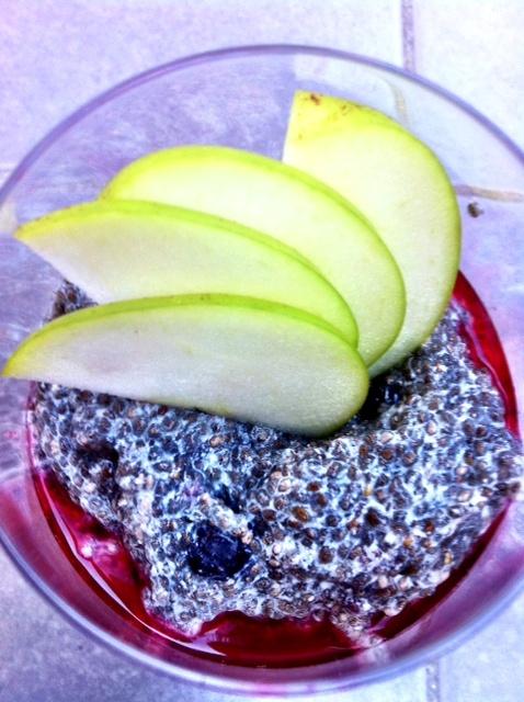 Rhubarb & Chia Breaky Cocktail: Recipe
