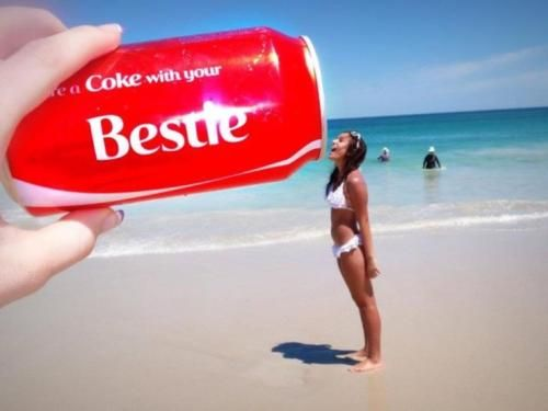 share a coke with your bestie!