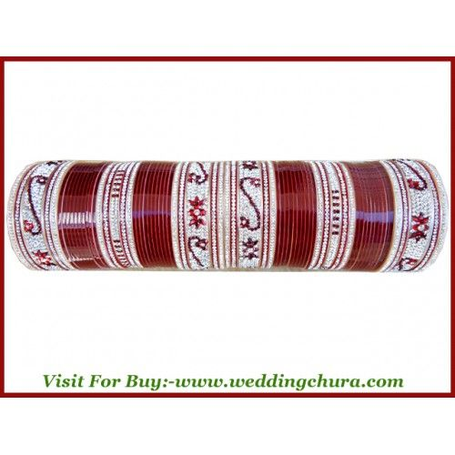 """We are online seller of all types of designer chura. We write your husband name in bridal chura. It will be cost Rupees 600. Want to see sample of wedding chura visit online at www.weddingchura.com . The price of the chura is 80$ . The shipping charges in india is free  we ship worldwide . The shipping charges out of india is 15$ . """