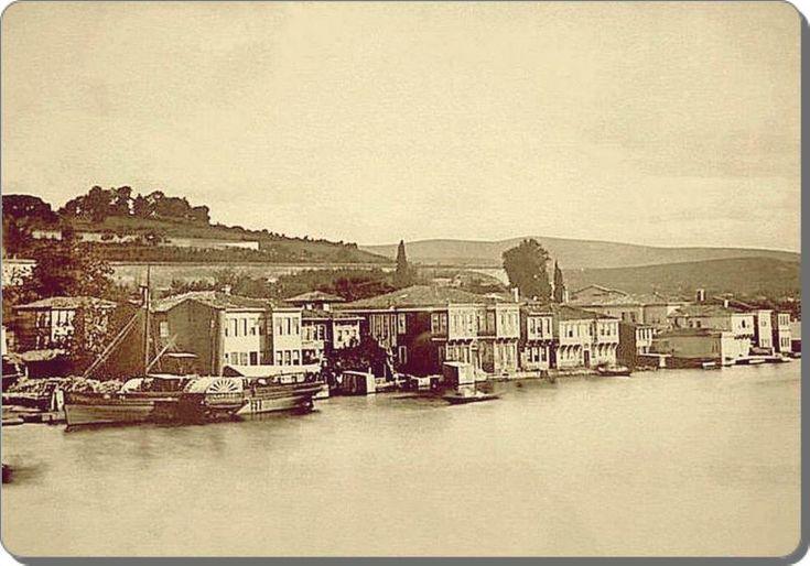 Beykoz - 1870 ler.tepeler bom boş ne güzelmiş