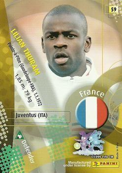 2002 Panini World Cup #59 Lilian Thuram  Back