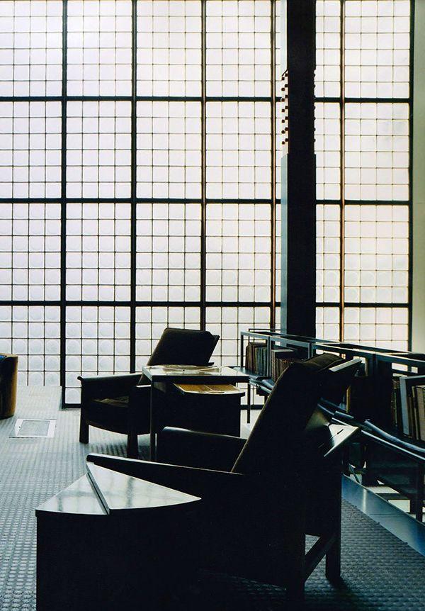Those windows maison de verre house of glass paris