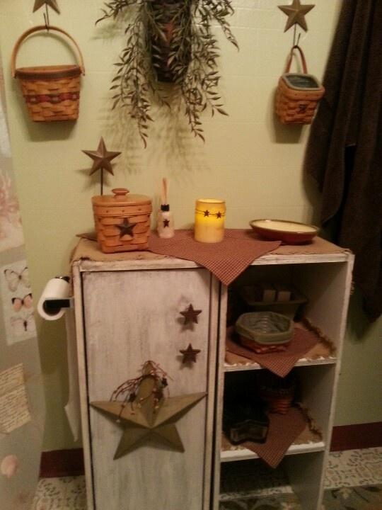 Star Bathroom Decor: Best 25+ Primitive Bathrooms Ideas On Pinterest