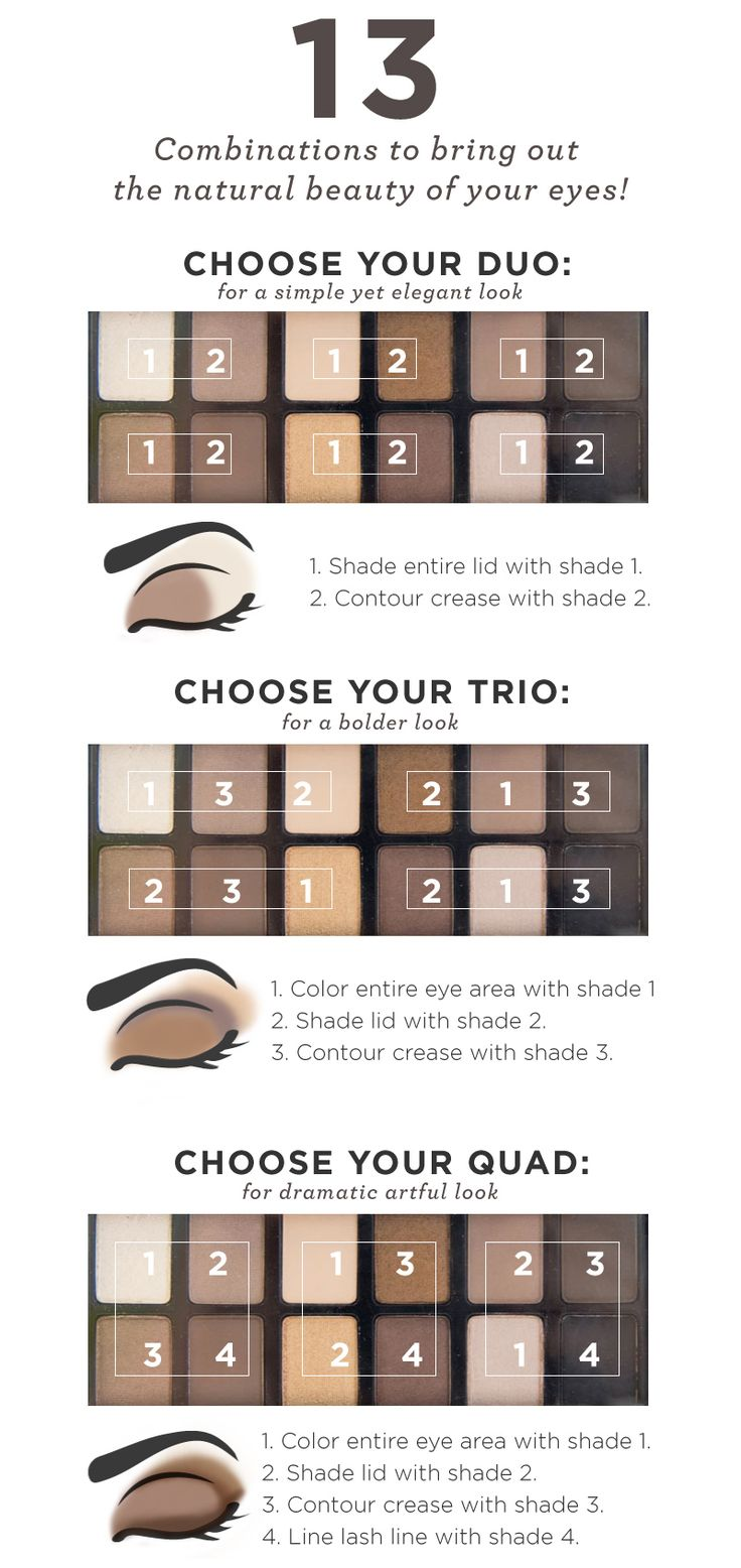 How to Create Thirteen Different Looks with the Maybelline The Nudes Palette!