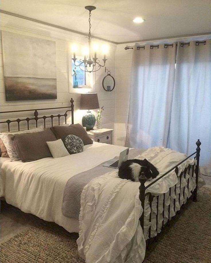 76+ Lovely Modern Farmhouse Bedroom Decor Ideas ...