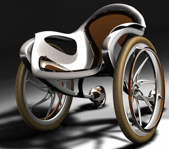 Sidewinder is the Harley Davidson of wheelchairs. I wonder how much this costs.