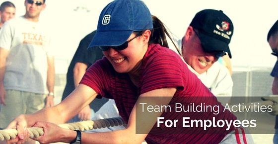 Team building activities: As a senior in the company you should not let this problem in your way as this is a common one indeed which many companies face, all it takes is a little effort on your part to eradicate this issue completely
