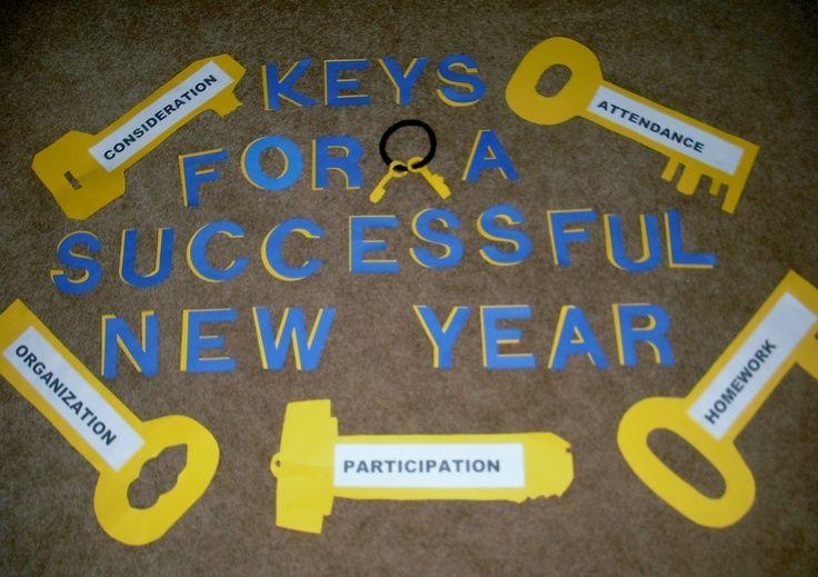 New Years bulletin board for Casey. s   Church bulletin boards