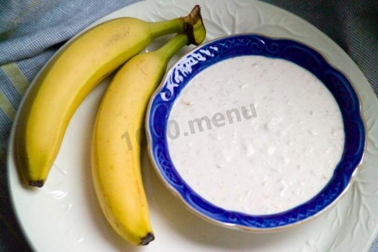 Сметанно банановый крем для торта