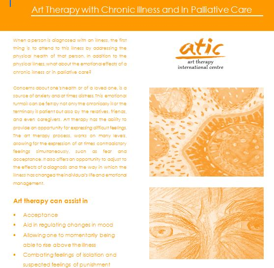 Art Therapy with Chronic illness and in Palliative care.png The full brochure is available for free