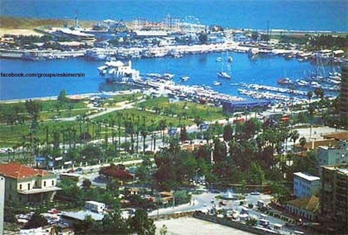 Mersin 1990 lar Atatürk parkı...