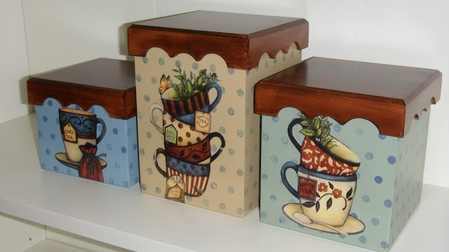 Tea cups and more cups