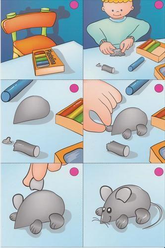 Plasticine: muizen maken