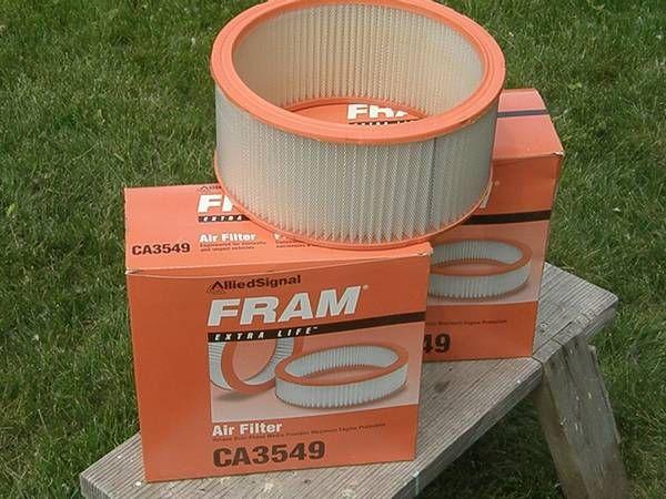 2 Fram Air Filters — $7obo – – (Sun Prairie)