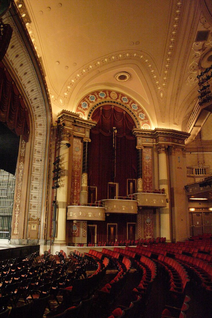 Playhouse Square Center, Cleveland, Ohio....my grandparents took me to see the nutcracker here when I was little. I'll never forget it. I wore a red dress, it was snowing and we sat up there in the box seats. I miss them so much and i am so grateful to have had that experience. ;) ;) <3