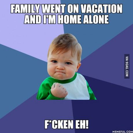 Real happiness kicks in when you're home alone