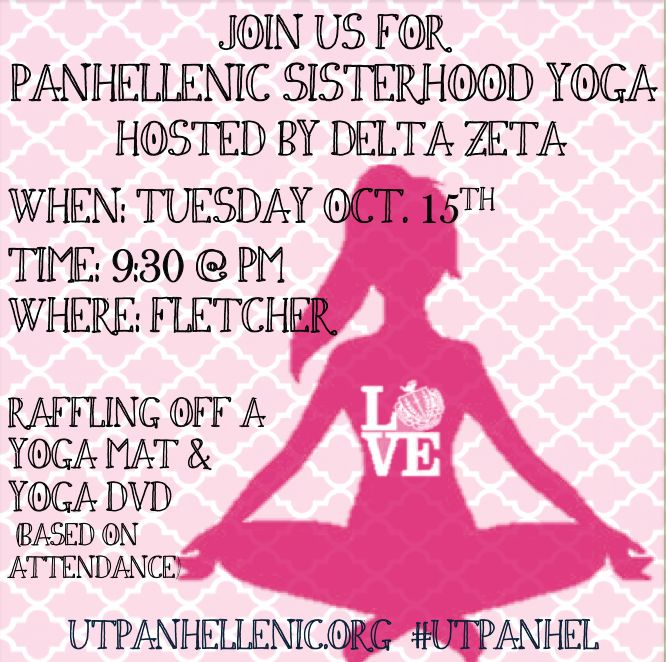 The University of Tampa, Panhellenic Council - {Announcements}