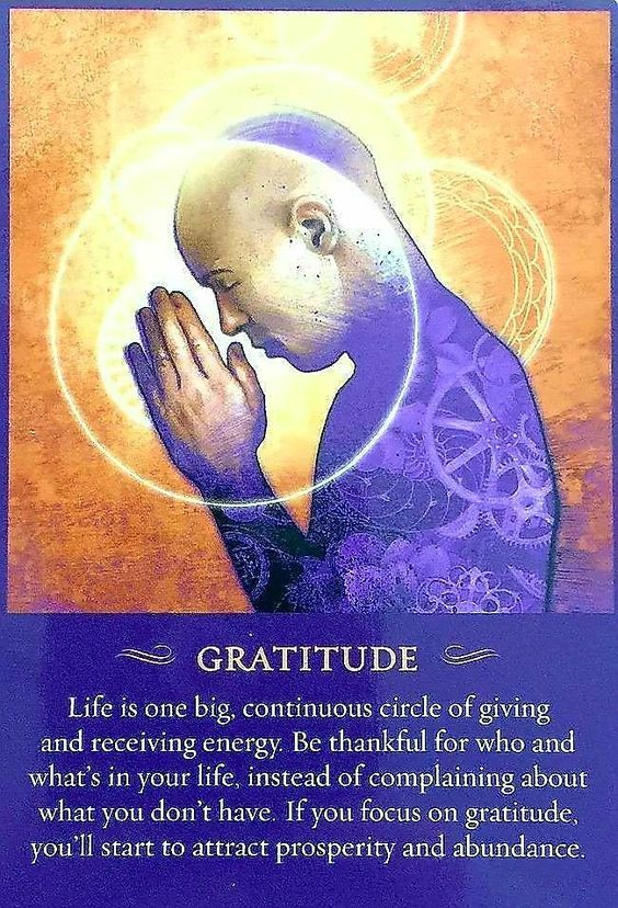 gratitude is number one