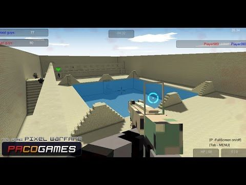 Pixel warfare play the game online pacogames com games