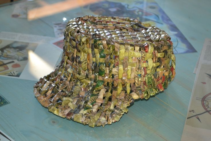 "cappello ""Gretel"" in carta"