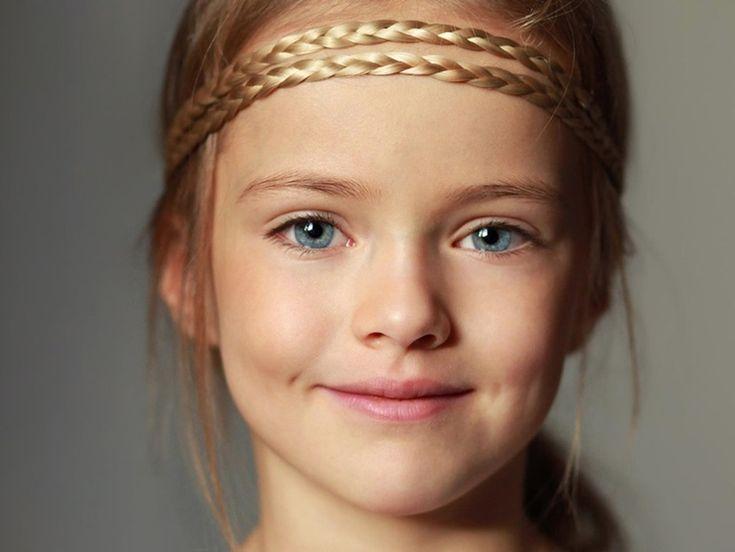 Kristina Pímenova de 9 años promete ser una top model - http://www.mujercosmopolita.com/kristina-pimenova-de-9-anos-promete-ser-una-top-model.html