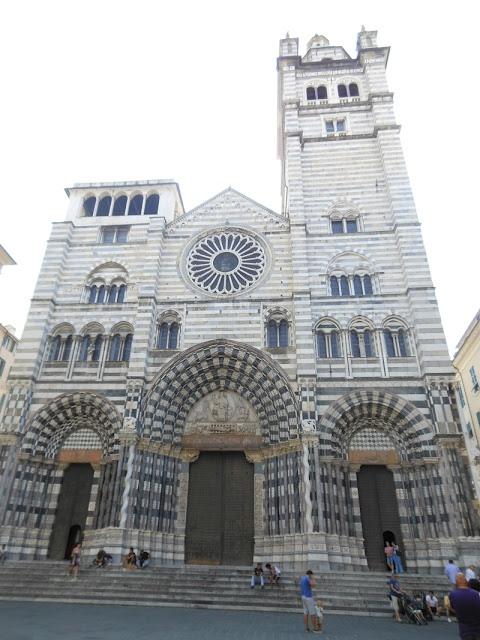 cattedrale di s. lorenzo, genova, italy