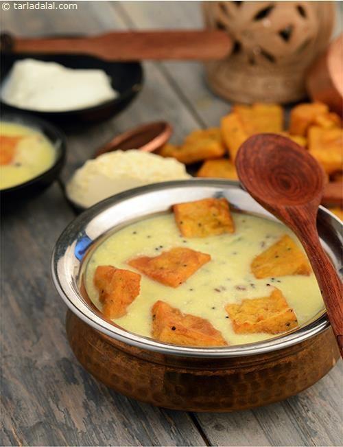Pithore Kadhi recipe | by Tarla Dalal | Tarladalal.com | #3880