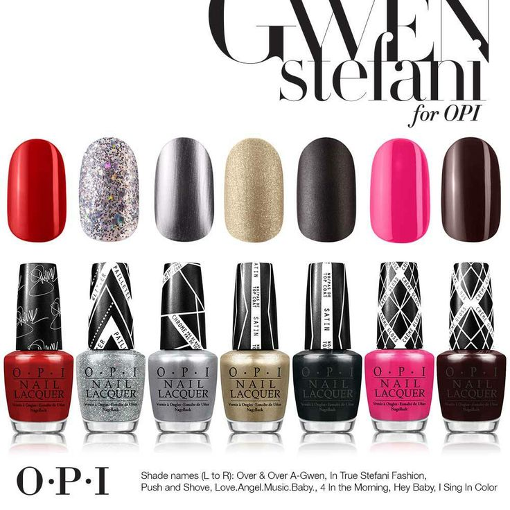 10 best Gwen Stefani for OPI images on Pinterest | Gwen stefani ...