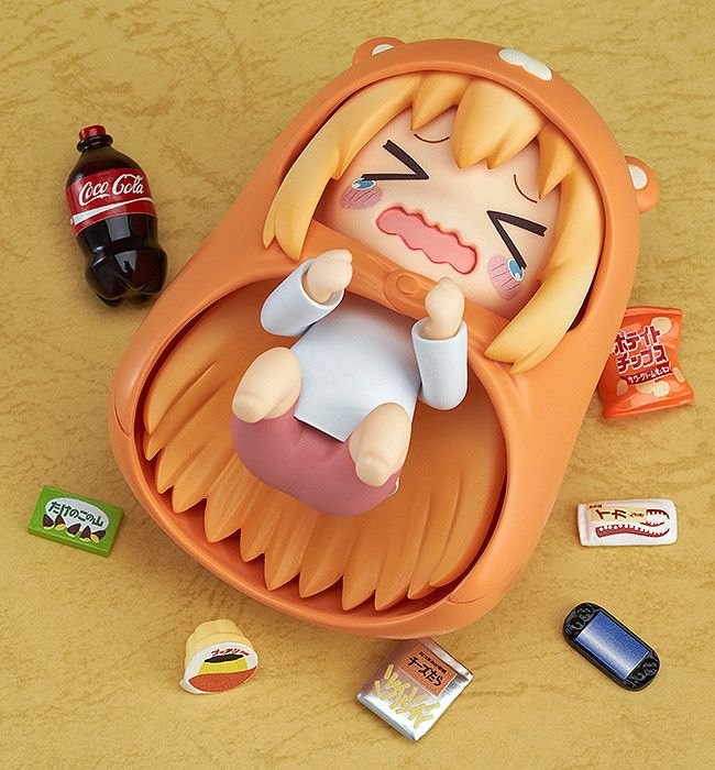Nendoroid Umaru is ready to laze around at home with me! I can't wait for this nendoroid to come out!