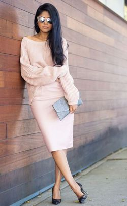 свитер с юбкой фото фото - Поиск в Google