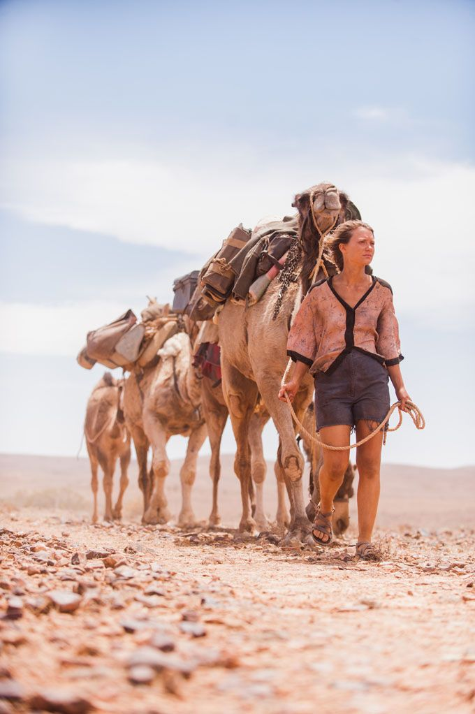 """I experienced that sinking feeling you get when you know you have conned yourself into doing something difficult and there's no going back."" - Robyn Davidson, Tracks"