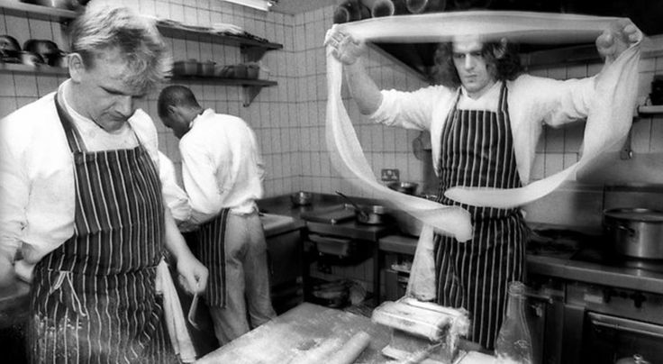 Watch Marco Pierre White Training Young Gordon Ramsay #food #recipes #spiralizer