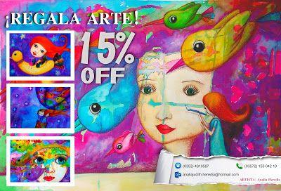 Analía Heredia Ilustraciones: Regalá Arte para éstas fiestas!!!