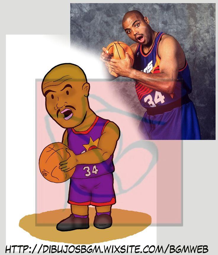 Charles Barkley, NBA, Caricaturas, Baloncesto