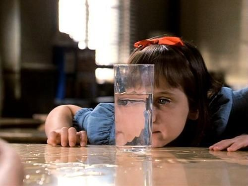 Admit it! You tried to move things with your mind after watching Matilda...