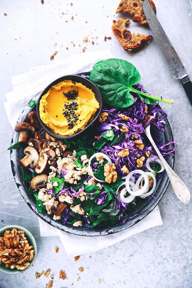 """Plat complètement végan mais ô combien séduisant !!!! Saveurs Végétales: ► """"Buddha plate"""" de printemps !"""