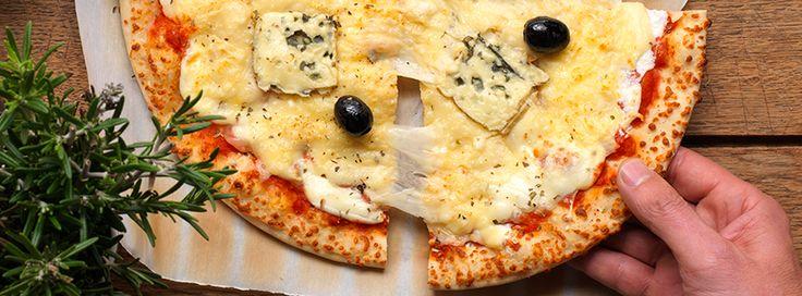 tego chyba nikt z nas się nie spodziewał, że za oknem w lutym będziemy mieli wiosnę😄ale jeśli już jest to niech zostanie z nami tak jak Pizza Corleone ❤️❤️❤️ 4 sery i oliwki ??? oooo tak ❤️  Stefan 😄