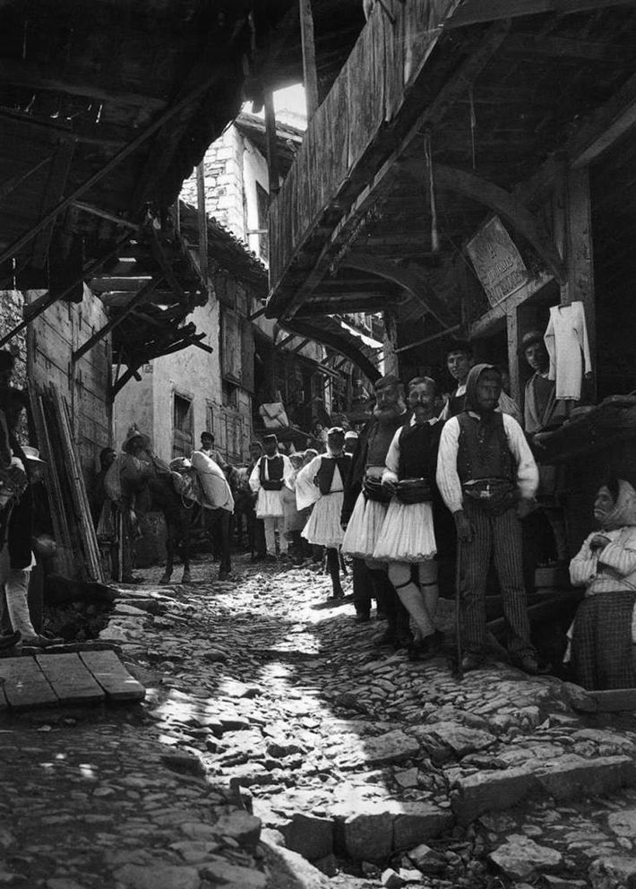 Check out his vintage photos of Greece in the early 20th century.