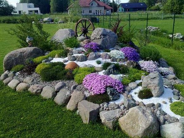 Garden Design Using Rocks brilliant garden design using stones bench for
