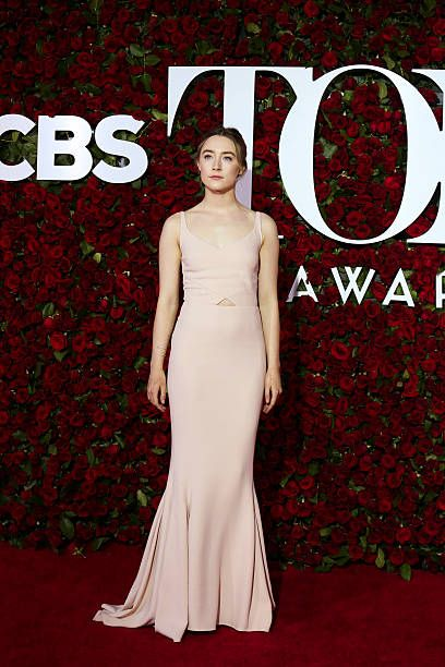 Saoirse Ronan attends the 70th Annual Tony Awards at the Beacon Theater on June 12 2016 in New York City